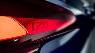 Hyundai i20 - light badge