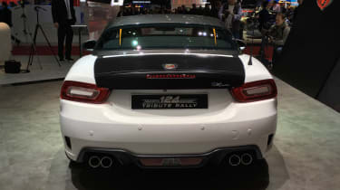abarth 124 spider rally tribute rear