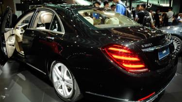 New Mercedes S-Class - rear