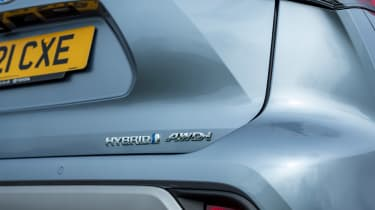 Toyota Highlander - Hybrid badge