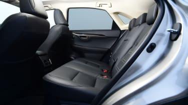 Lexus NX - rear seats