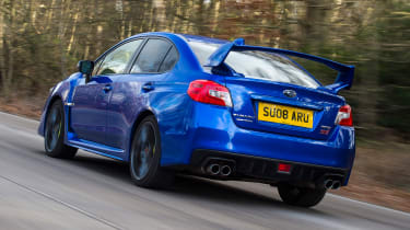 Subaru WRX STi Final Edition - rear