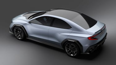Subaru VIZIV concept - above