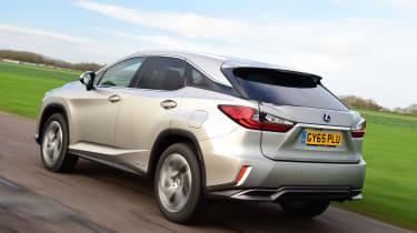 Lexus RX - rear action