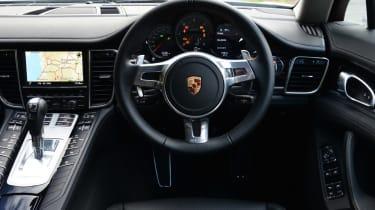 Porsche Panamera 2014 interior