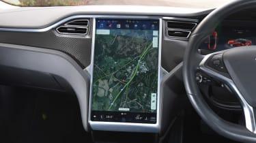 Tesla Model S long-term final report - sat-nav
