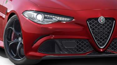 Alfa Romeo Giulia - detail front lights