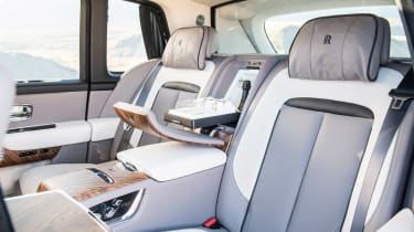 Rolls-Royce Cullinan - rear seats