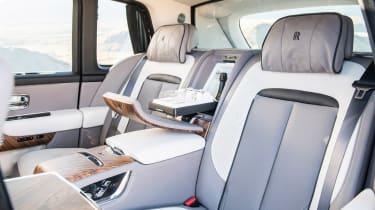Rolls-Royce Cullinan - rear seats