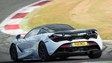 McLaren 720S - rear track cornering