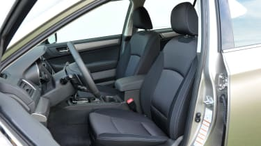 New Subaru Outback 2015 front seats