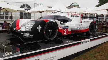 Porsche 919 Hybrid Le Mans winner - Goodwood front