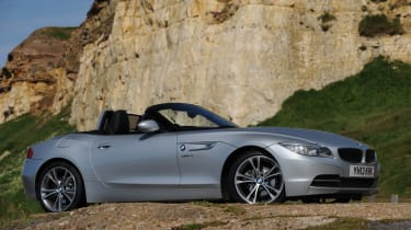 The Z4's engine lineup is exclusively petrol.