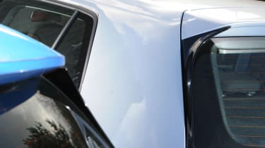 Volkswagen Golf Bluemotion vs Mercedes A180 CDI ECO rears