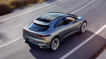 Jaguar I-Pace - above