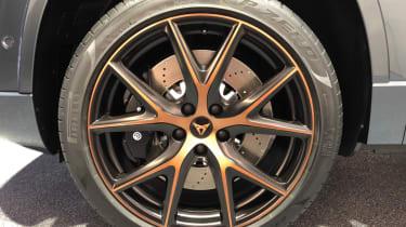 Cupra Ateca SUV copper wheel