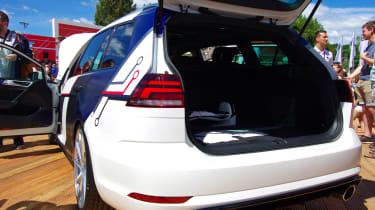 VW Golf GTE Estate Impulse side Worthersee