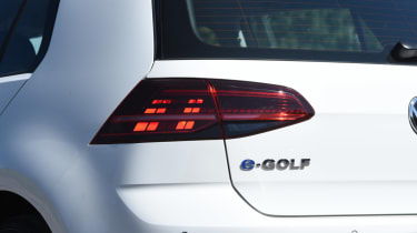 Long-term test - VW e-golf - tail-light