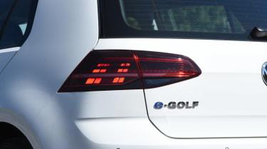 Long-term test - VW e-golf - tail-light