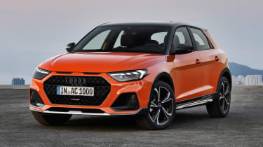 Audi A1 Citycarver - front/side