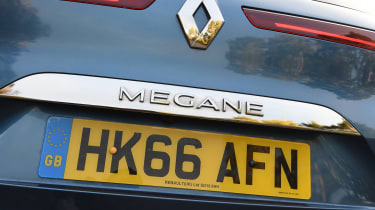 Renault Megane - boot