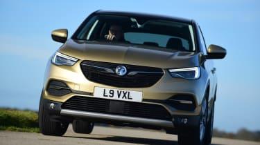 Vauxhall Grandland X - front cornering