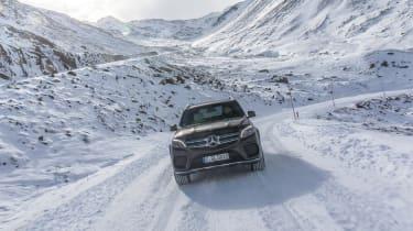 Mercedes GLS front