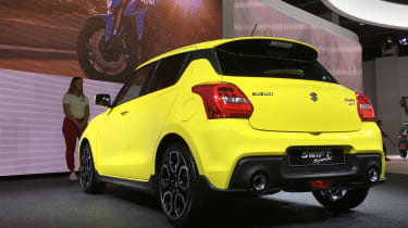 New 2018 Suzuki Swift Sport - rear