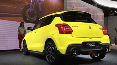 New 2018 Suzuki Swift Sport - rear