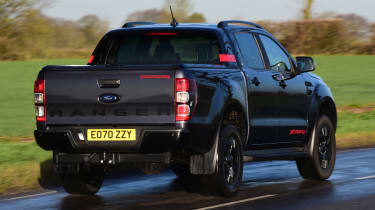 Ford Ranger Thunder - rear action
