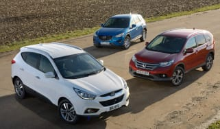 Hyundai ix35 vs rivals