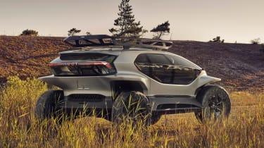 Audi AI:TRAIL concept - rear