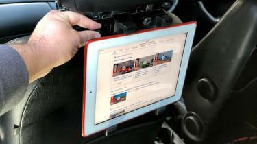 Best car headrest tablet holders