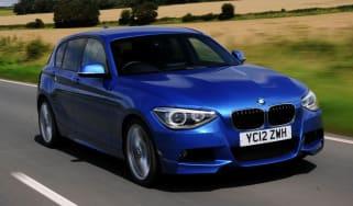 BMW 125i front track