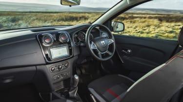 Dacia Sandero Stepway Techroad - cabin