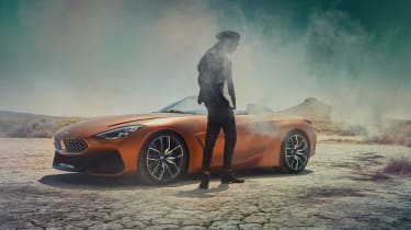 BMW Concept Z4 leaked