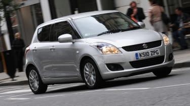 Suzuki Swift front tracking