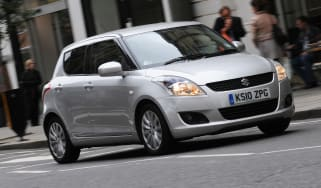 Suzuki Swift front tracking