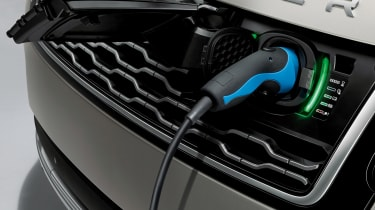 Range Rover review - charging
