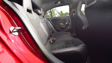Mercedes A-Class - rear seats
