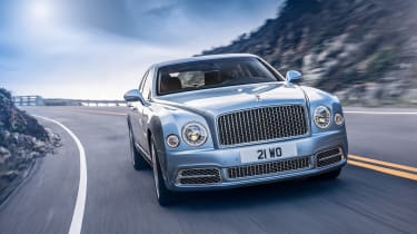Bentley Mulsanne 2016 - Signature front tracking