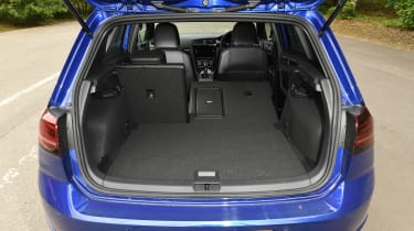 Volkswagen Golf R Performance Pack - boot