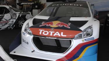 Sebastien Loeb's Pikes Peak Peugeot 208 T16