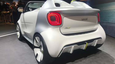Smart ForEase rear