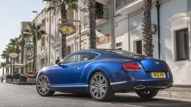 Bentley Continental GT Speed rear static