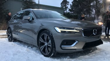 Volvo V60 - reveal front