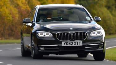 BMW ActiveHybrid 7 front cornering