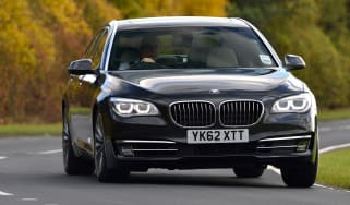 BMW ActiveHybrid 7 front cornering