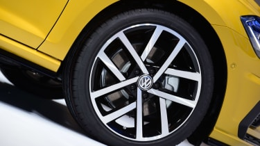 New 2017 Volkswagen Golf reveal - wheel detail