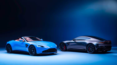 Aston Martin Vantage Roadster - range head-to-head